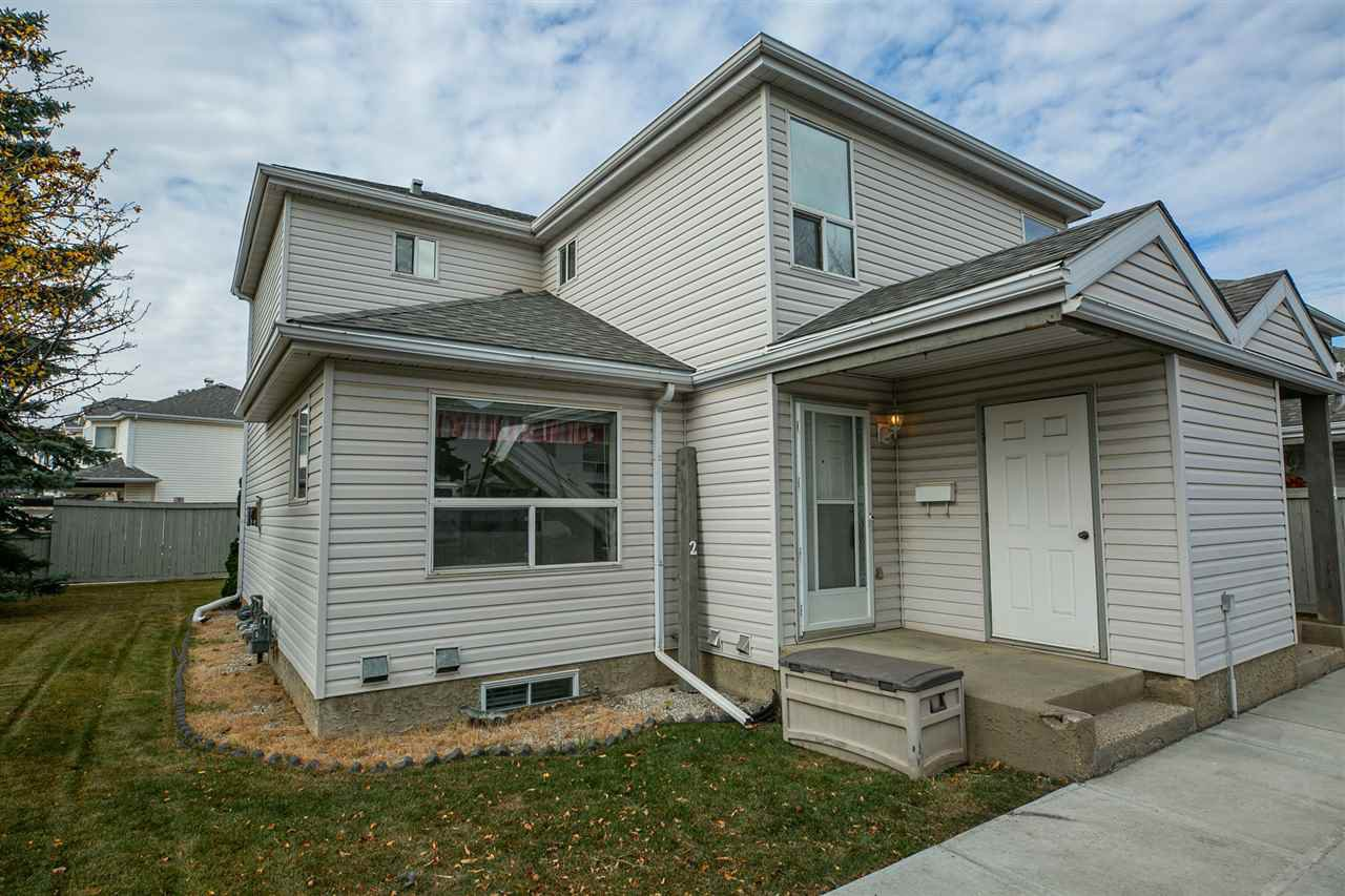Main Photo: 2 603 YOUVILLE Drive E in Edmonton: Zone 29 Townhouse for sale : MLS®# E4217412