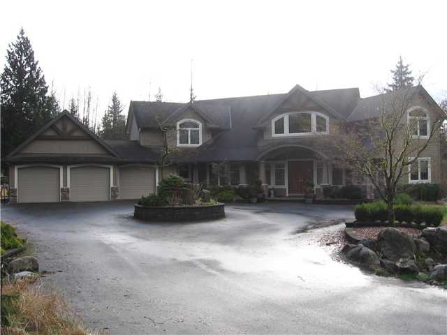 Main Photo: 26180 124TH Avenue in Maple Ridge: Websters Corners House for sale : MLS®# V932149