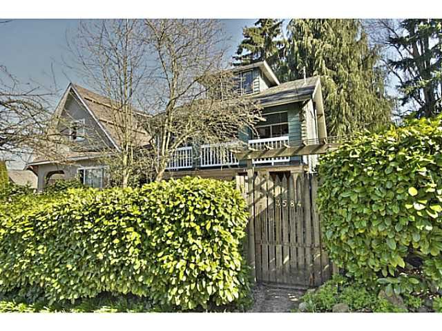 Main Photo: 3584 MARSHALL ST in Vancouver: Grandview VE House for sale (Vancouver East)  : MLS®# V997815