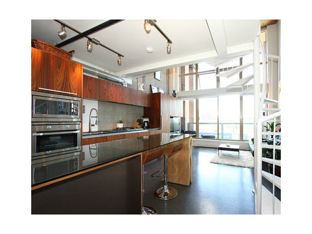 "Main Photo: # 407 1529 W 6TH AV in Vancouver: False Creek Condo for sale in ""WSIX"" (Vancouver West)  : MLS®# V1009615"