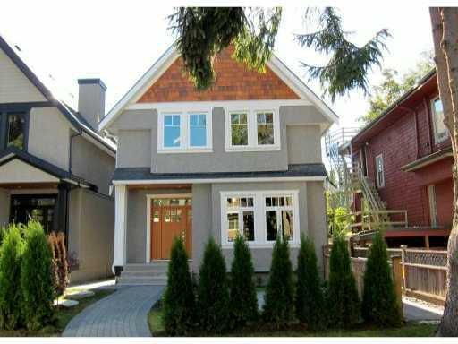 Main Photo: 2766 W 3RD AV in : Kitsilano 1/2 Duplex for sale : MLS®# V852890