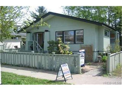 Main Photo: 1509 Brooke Street in VICTORIA: Vi Fairfield West Single Family Detached for sale (Victoria)  : MLS®# 230512