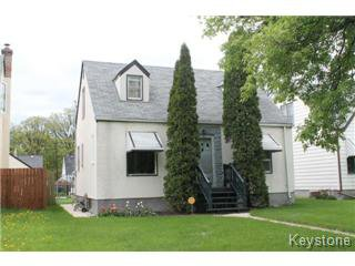 Main Photo: 143 Des Meurons Street in Winnipeg: St Boniface Single Family Detached for sale (South East Winnipeg)  : MLS®# 1310843