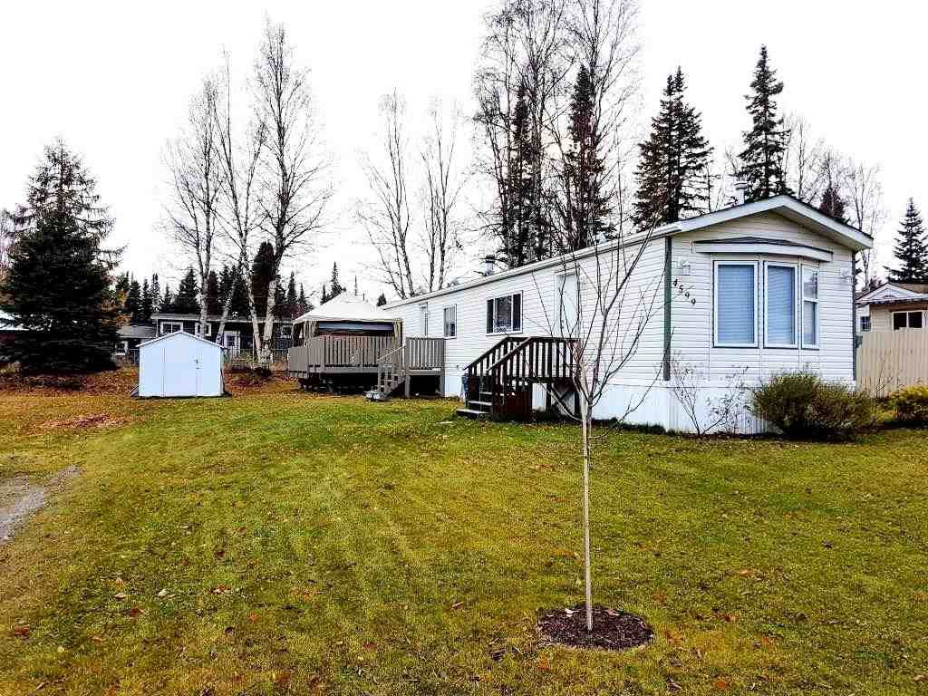 Main Photo: 4599 GRAY DRIVE in : Hart Highlands Manufactured Home for sale : MLS®# R2220921