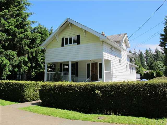 Main Photo: 509 2ND Street in New Westminster: Queens Park House for sale : MLS®# V970819