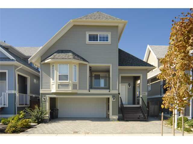 """Main Photo: 216 DAWE Street in New Westminster: Queensborough House for sale in """"HARITAGE LANE HOME"""" : MLS®# V994792"""
