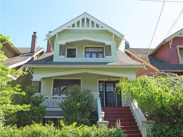 "Main Photo: 2308 STEPHENS Street in Vancouver: Kitsilano House for sale in ""Kitsilano"" (Vancouver West)  : MLS®# V1006048"