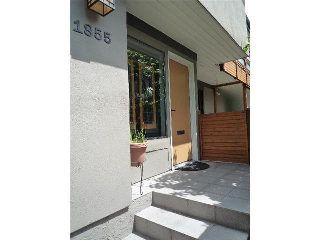 Main Photo: 1855 GREER AV in Vancouver: Kitsilano Condo for sale (Vancouver West)  : MLS®# V1068596