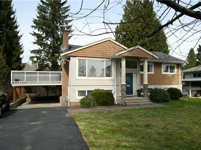 Main Photo: 1537 BALMORAL AV in Coquitlam: Harbour Place House for sale : MLS®# V1060969