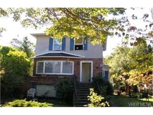 Main Photo: 1449 Grant Street in VICTORIA: Vi Fernwood Single Family Detached for sale (Victoria)  : MLS®# 221937