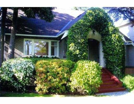 Main Photo: 3505 E 22ND AV in Vancouver: Renfrew Heights House for sale (Vancouver East)  : MLS®# V607656