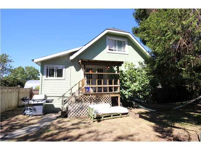 Main Photo: 1267 E 13TH AV in Vancouver: Mount Pleasant VE House for sale (Vancouver East)  : MLS®# V1141181