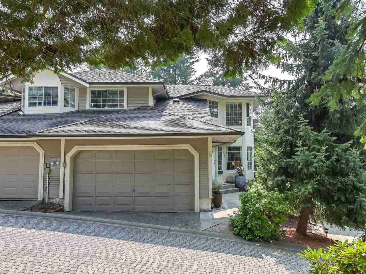 Main Photo: 13 101 PARKSIDE DRIVE in Port Moody: Heritage Mountain Townhouse for sale : MLS®# R2297667