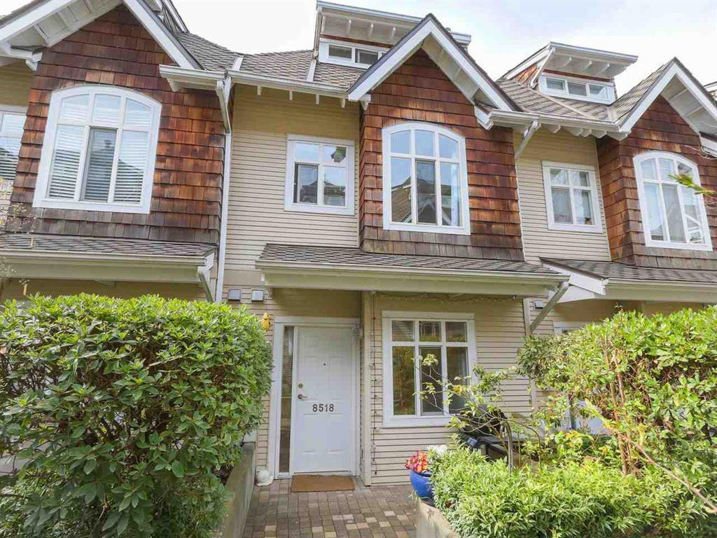 Main Photo: 8518 Lighthouse Way in Vancouver: South Marine Townhouse for sale (Vancouver East)  : MLS®# R2355888