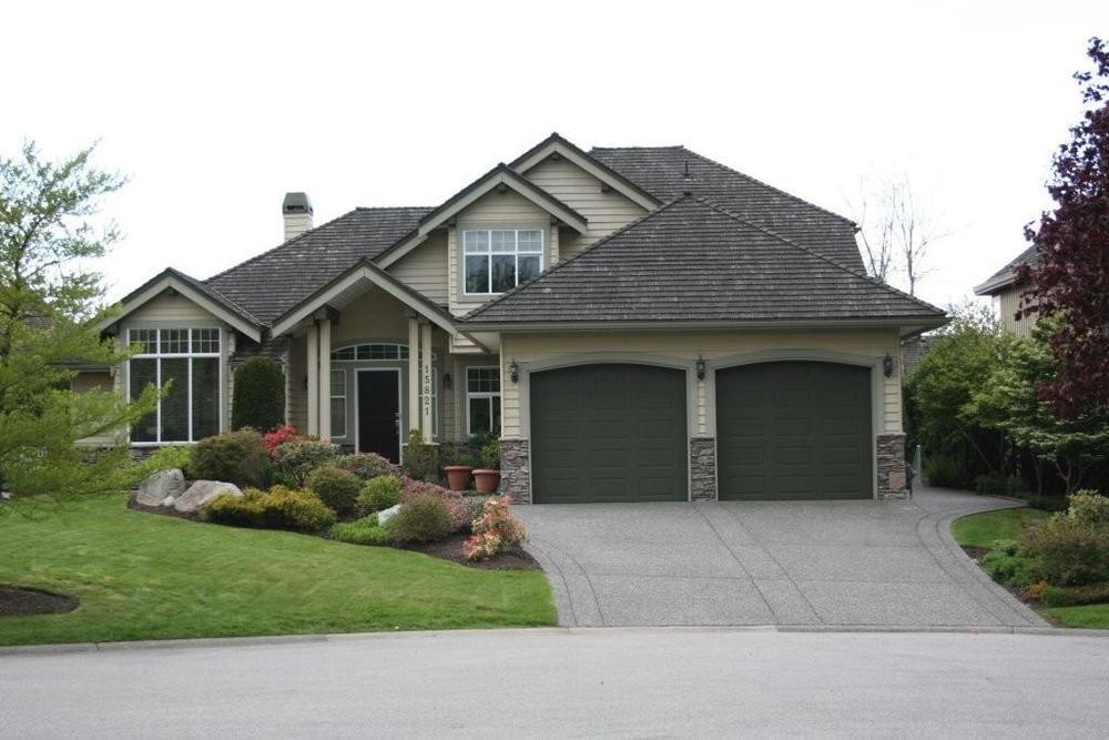 Main Photo: 15821 36 Avenue in South Surrey: Morgan Creek Home for sale ()  : MLS®# F1022837