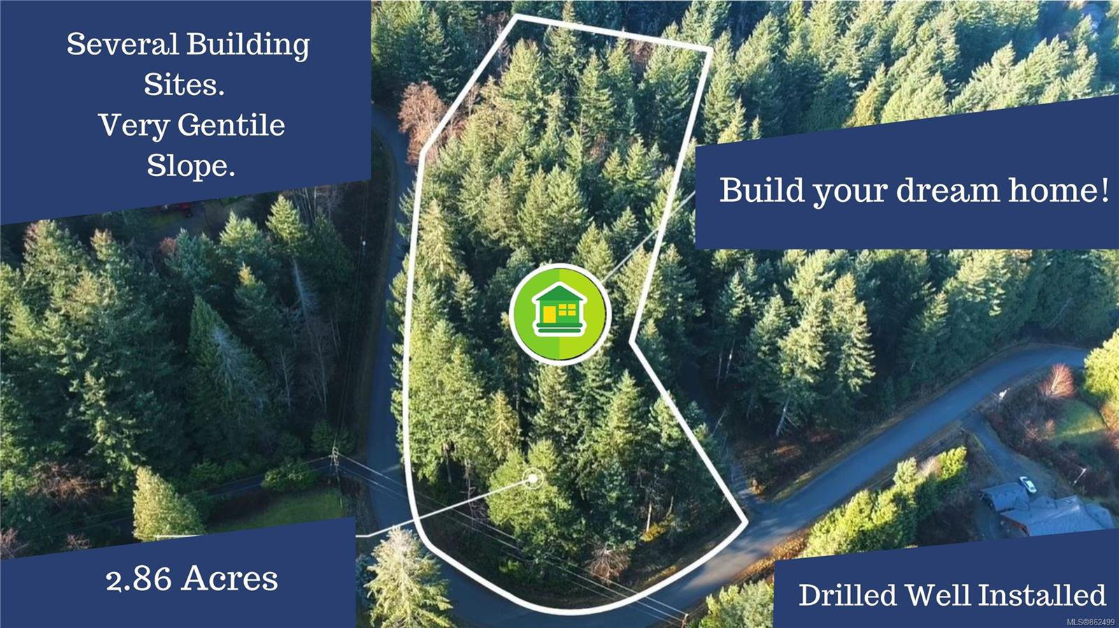 Main Photo: Lot B Ridgeway Rd in : Na North Jingle Pot Land for sale (Nanaimo)  : MLS®# 862499