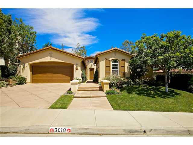 Main Photo: CARLSBAD SOUTH House for sale : 5 bedrooms : 3018 Corte Baldre in Carlsbad