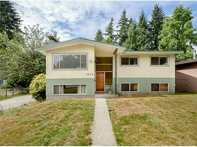 Main Photo: 3513 STEVENSON Street in Port Coquitlam: Woodland Acres PQ House for sale : MLS®# V1082766