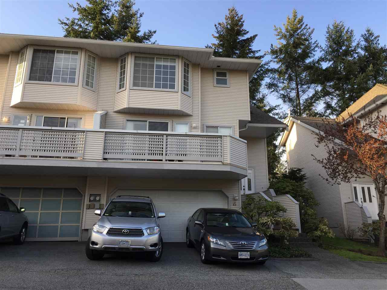 Main Photo: 15 1216 JOHNSON STREET in Coquitlam: Scott Creek Townhouse for sale : MLS®# R2259237