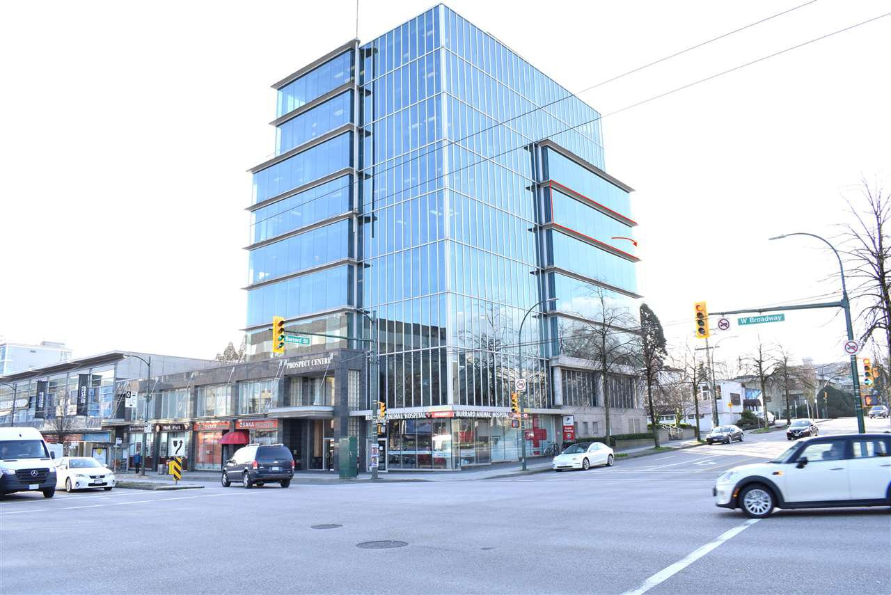 Main Photo: 600 1788 W BROADWAY in Vancouver: Fairview VW Office for sale (Vancouver West)  : MLS®# C8030708