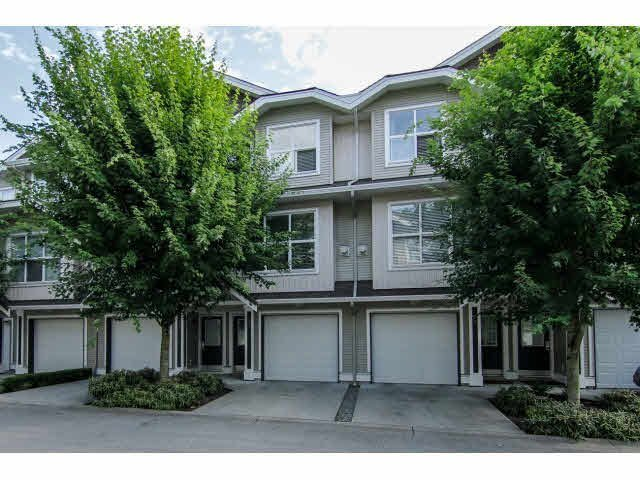 "Main Photo: 52 20460 66TH Avenue in Langley: Willoughby Heights Townhouse for sale in ""WILLOWS EDGE"" : MLS®# F1418966"