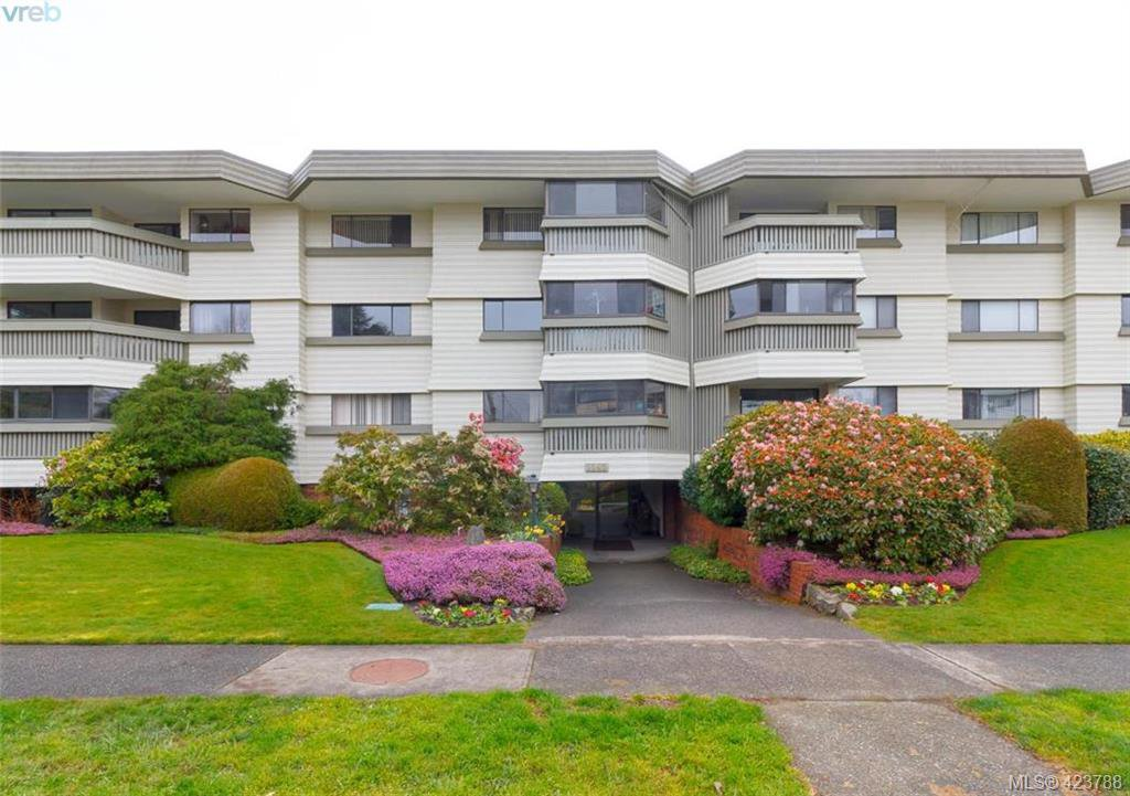 Main Photo: 406 1145 Hilda Street in VICTORIA: Vi Fairfield West Condo Apartment for sale (Victoria)  : MLS®# 423788