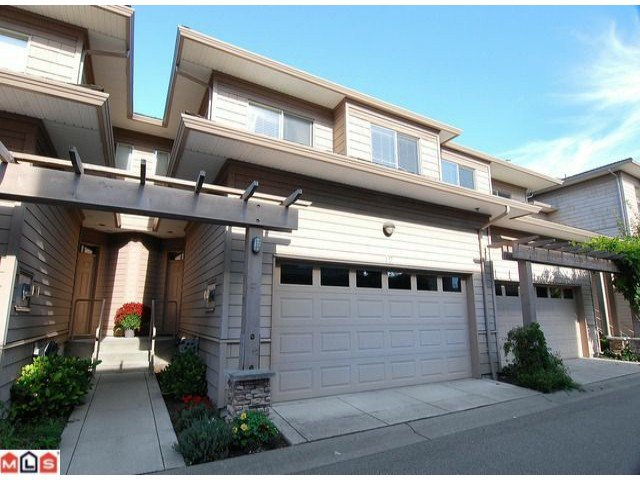 "Main Photo: 12 16655 64TH Avenue in Surrey: Cloverdale BC Townhouse for sale in ""Ridgewood Estates"" (Cloverdale)  : MLS®# F1205100"