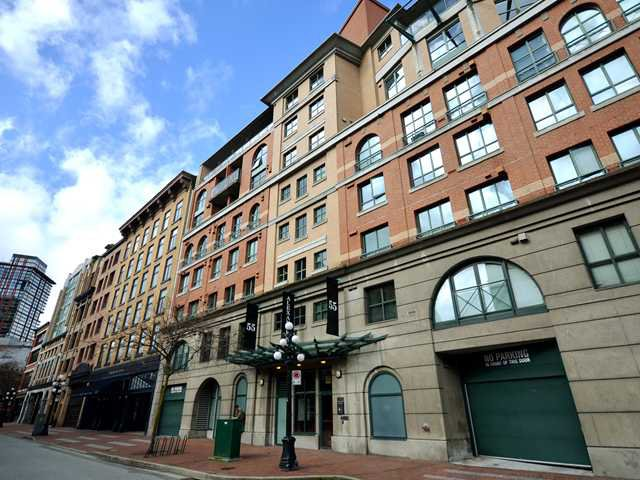 Main Photo: 203 55 ALEXANDER Street in Vancouver: Downtown VE Condo for sale (Vancouver East)  : MLS®# V938824