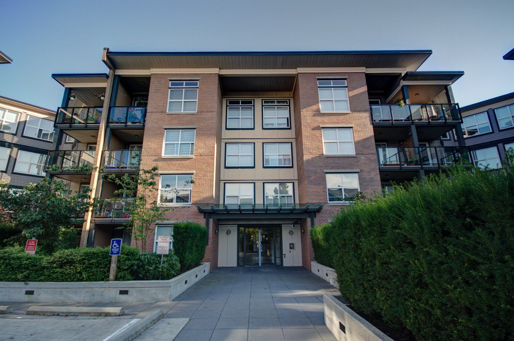 "Main Photo: 114 10707 139TH Street in Surrey: Whalley Condo for sale in ""AURA 2"" (North Surrey)  : MLS®# F1219029"