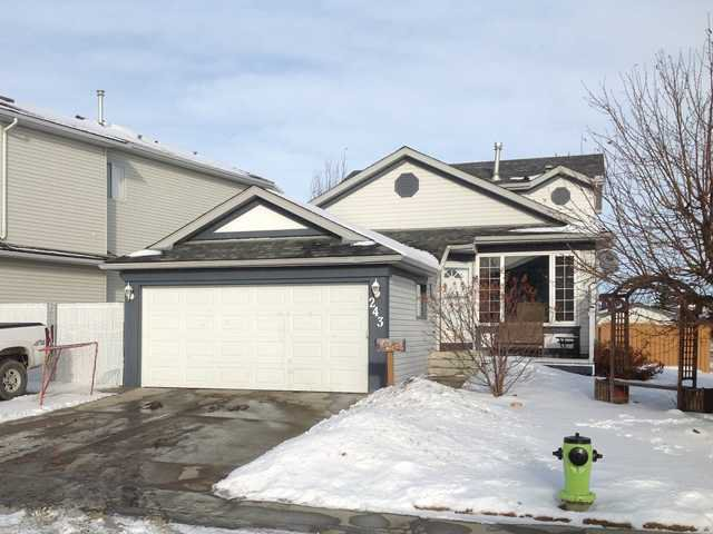 Main Photo: 243 WOODSIDE Crescent NW: Airdrie Residential Detached Single Family for sale : MLS®# C3550219