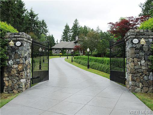 Main Photo: 1251 Garden Gate Drive in BRENTWOOD BAY: CS Brentwood Bay Residential for sale (Central Saanich)  : MLS®# 331222