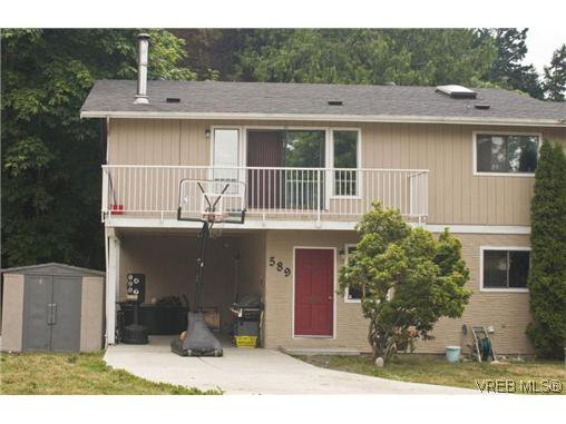 Main Photo: 589 Hansen Avenue in VICTORIA: La Thetis Heights Residential for sale (Langford)  : MLS®# 296342