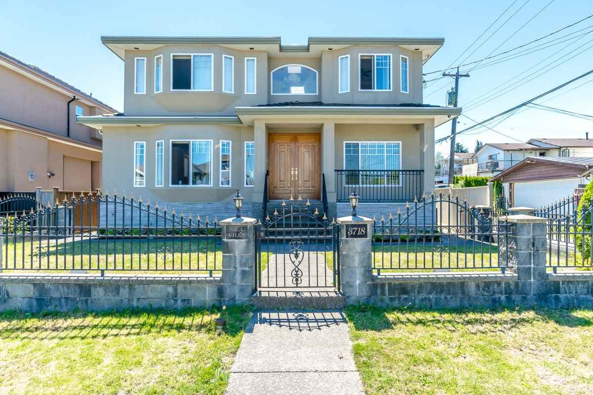 Main Photo: 3718 SUNSET Street in Burnaby: Burnaby Hospital House for sale (Burnaby South)  : MLS®# R2416346