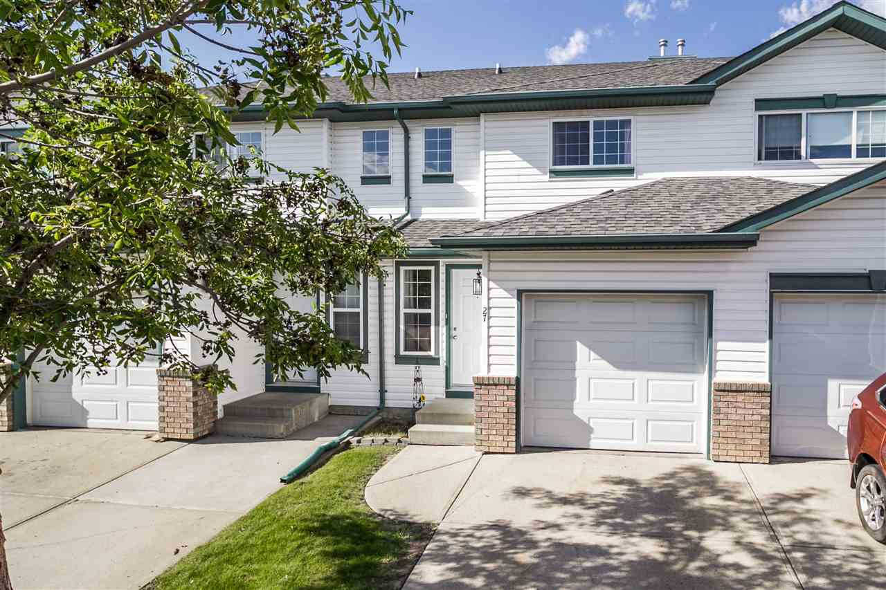 27 16823 84 Street Edmonton 3 Bed 1.5 Bath Townhouse For Sale E4209344