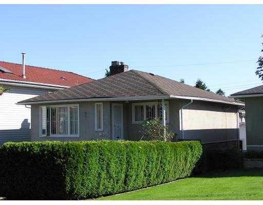 Main Photo: 2808 EUCLID AV in Vancouver: Collingwood Vancouver East House for sale (Vancouver East)  : MLS®# V546768