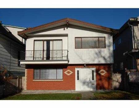 Main Photo: 2521 PANDORA ST in Vancouver: House for sale (Hastings East)  : MLS®# V799519
