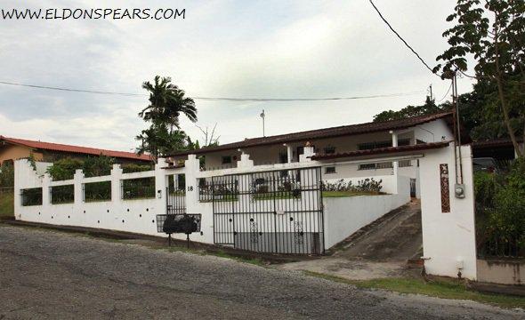 Family home in La Chorrera, Panama