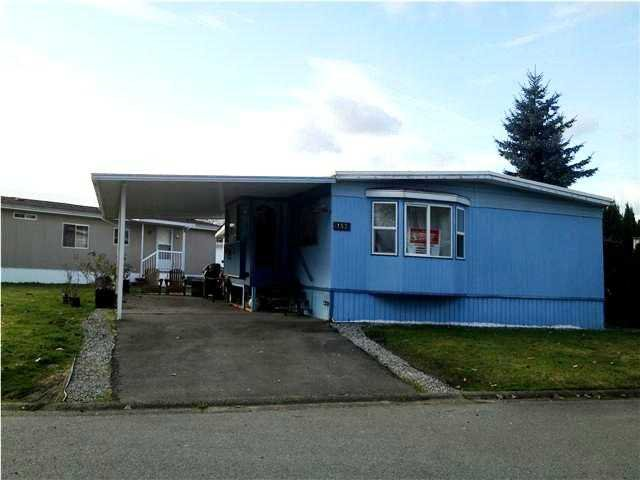 """Main Photo: 153 145 KING EDWARD Street in Coquitlam: Maillardville Manufactured Home for sale in """"MILL CREEK VILLAGE"""" : MLS®# V1001686"""