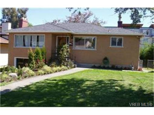 Main Photo: 1529 Westall Ave in VICTORIA: Vi Oaklands Single Family Detached for sale (Victoria)  : MLS®# 476050