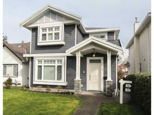 Main Photo: 33 W 21ST AV in Vancouver: Cambie House for sale (Vancouver West)  : MLS®# V1113391