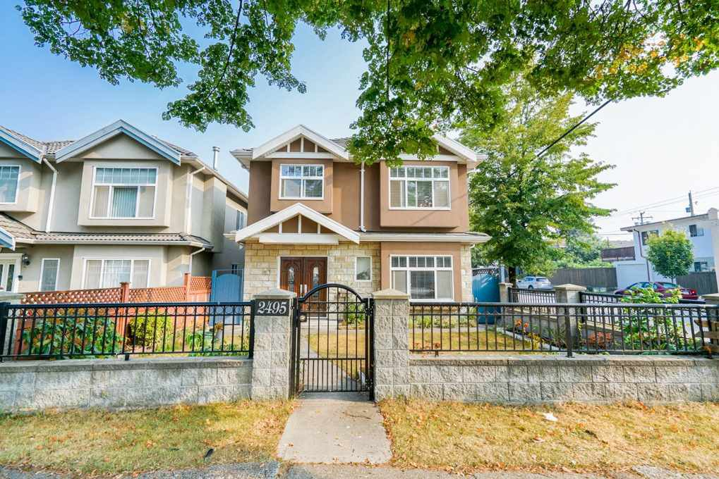 Main Photo: 2495 E 34TH Avenue in Vancouver: Collingwood VE House for sale (Vancouver East)  : MLS®# R2411989