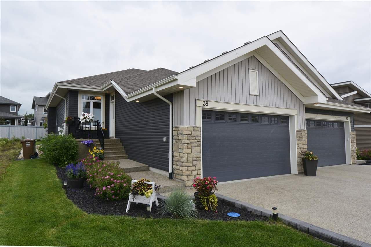 Main Photo: 38 LEGACY Terrace: St. Albert House Half Duplex for sale : MLS®# E4198012