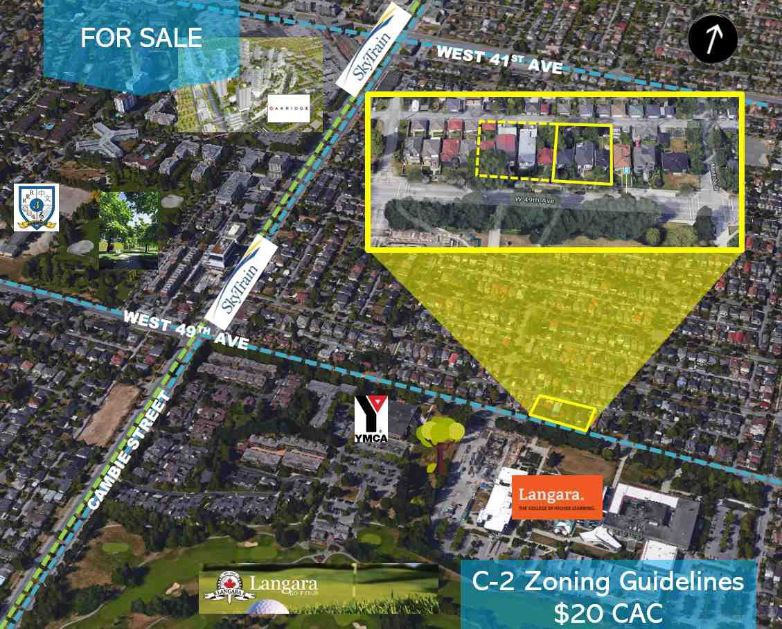 Main Photo: 137 W 49TH Avenue in Vancouver: Oakridge VW Land for sale (Vancouver West)  : MLS®# R2486704