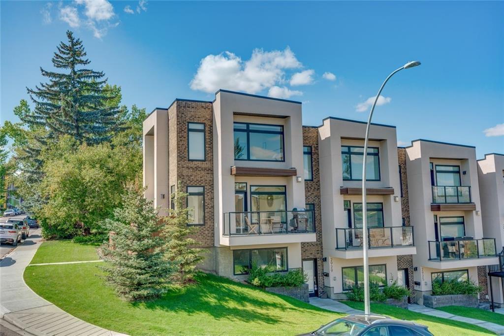 Main Photo: 1604 29 Avenue SW in Calgary: South Calgary Row/Townhouse for sale : MLS®# C4271141