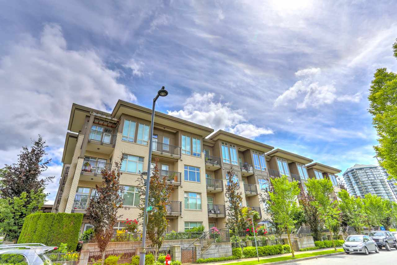 "Main Photo: L109 13468 KING GEORGE Boulevard in Surrey: Whalley Condo for sale in ""THE BROOKLAND"" (North Surrey)  : MLS®# R2475357"