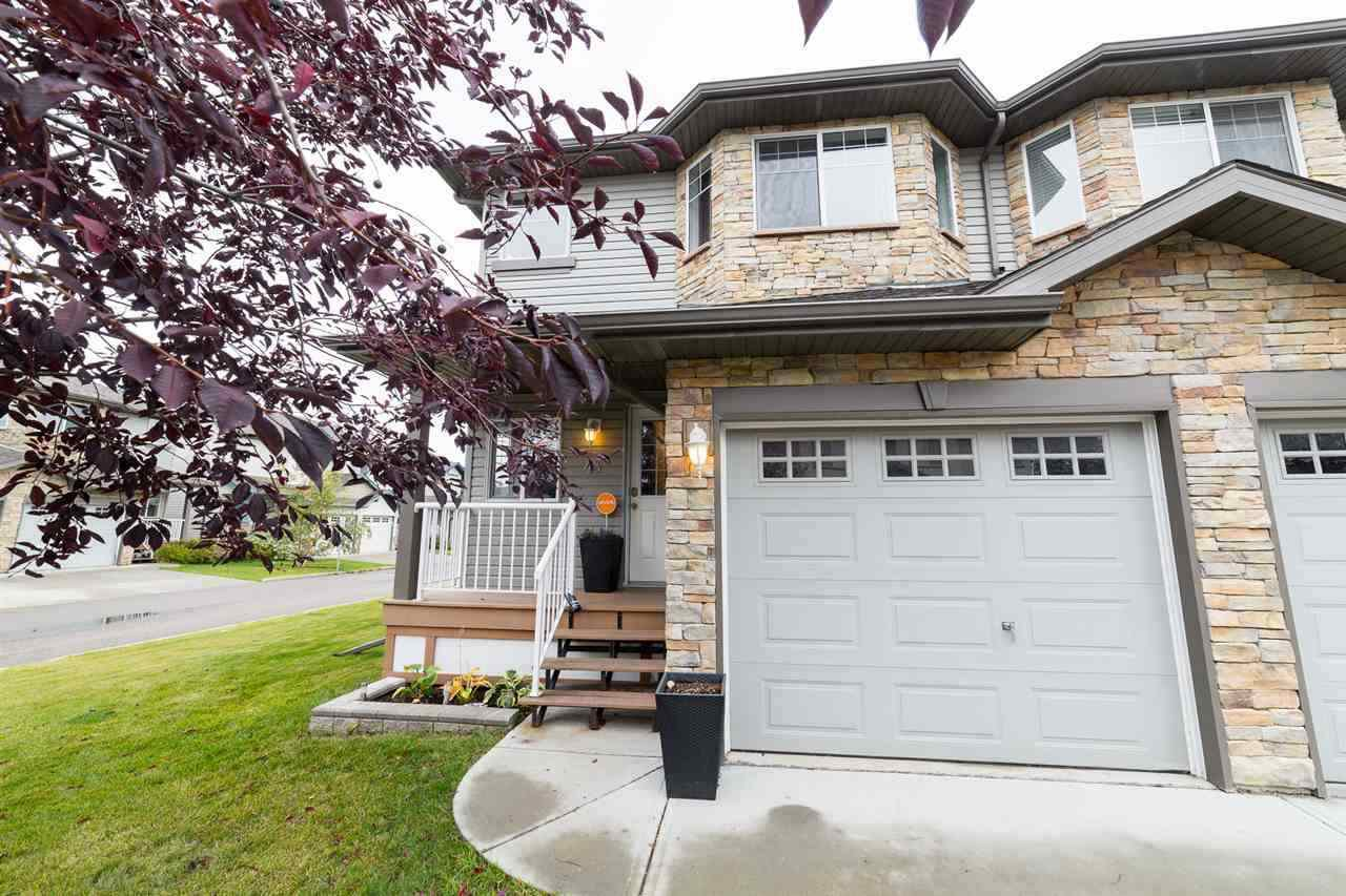 Main Photo: 43 6304 SANDIN Way in Edmonton: Zone 14 Townhouse for sale : MLS®# E4217894