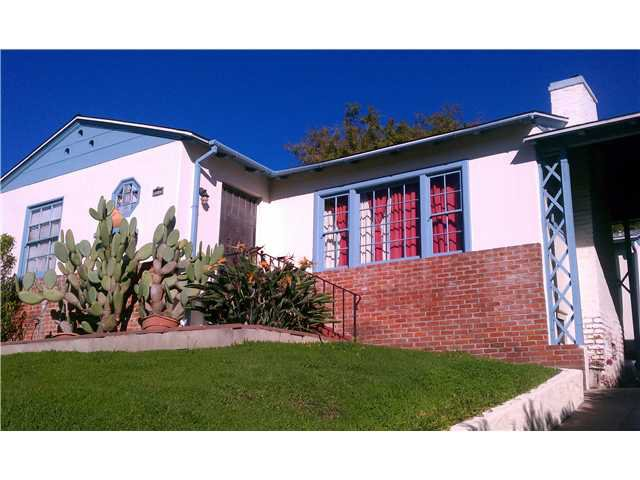 Main Photo: NORTH PARK House for sale : 2 bedrooms : 3585 Alabama Street in San Diego