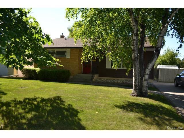 Main Photo: 67 Wordsworth Way in WINNIPEG: Westwood / Crestview Residential for sale (West Winnipeg)  : MLS®# 1319071