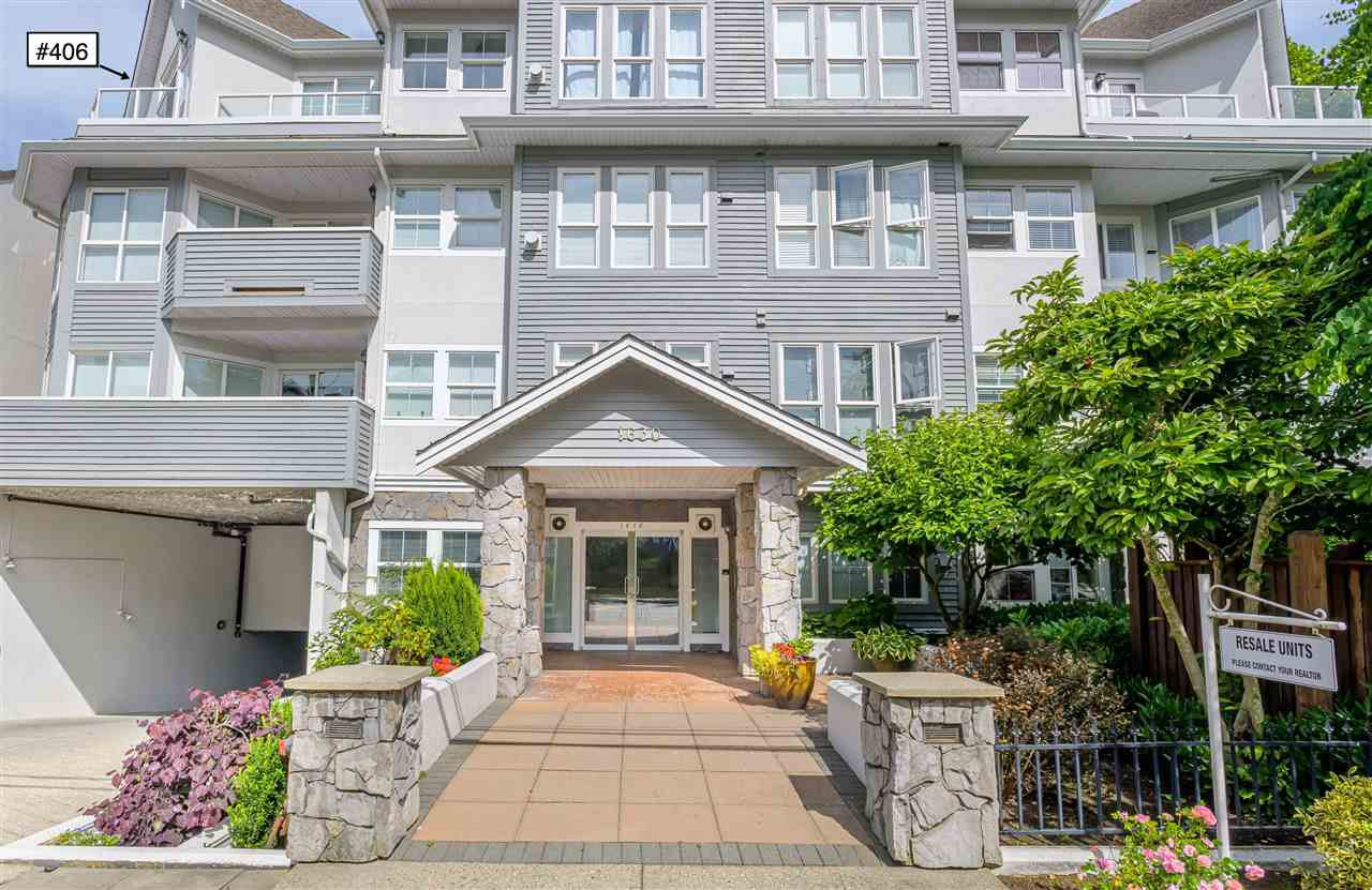 "Main Photo: 406 1630 154 Street in Surrey: King George Corridor Condo for sale in ""Carton Court"" (South Surrey White Rock)  : MLS®# R2398777"