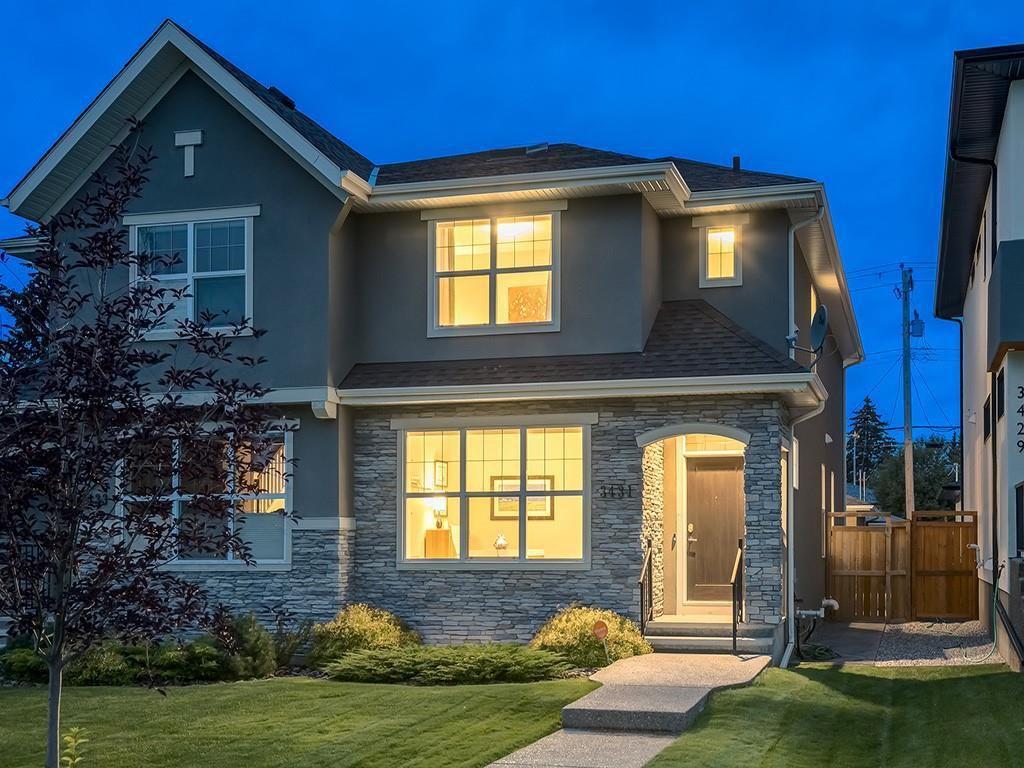 Main Photo: 3431 KERRY PARK Road SW in Calgary: Killarney/Glengarry Semi Detached for sale : MLS®# C4292177